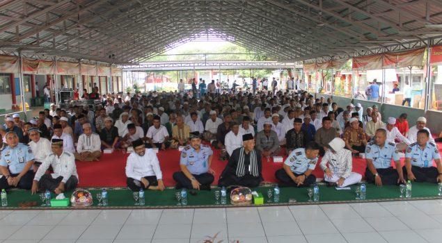 700 WBP Lapas Semarang Padati Pengajian Akbar Peringatan Isra Mi'raj