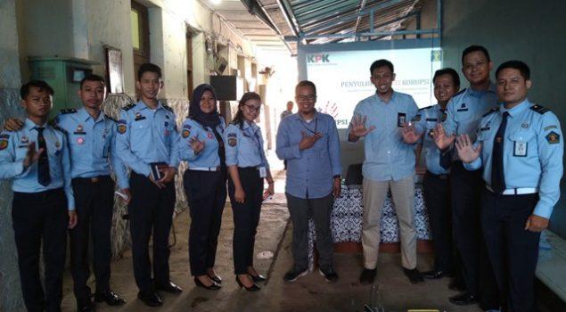 Petugas LPKA Jakarta Ikuti Penyuluhan Anti Korupsi Dari KPK