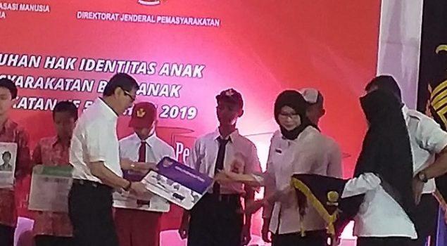 Anak LPKA Tangerang Wakili LPKA Seluruh Indonesia Terima KIA