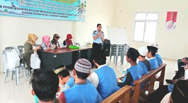 Rutan Bandar Lampung Penuhi Hak Pendidikan WBP