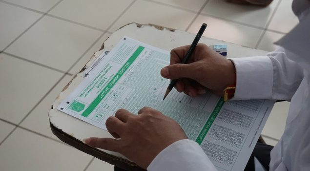 25 WBP Jalani USBN di LPN Jakarta