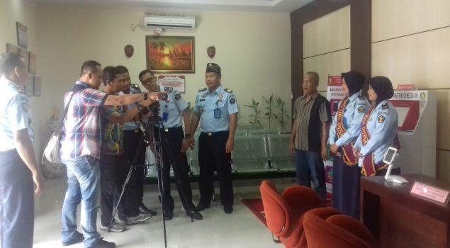 Tim Humas Rutan Bantul Menimba Ilmu Pada Kru Jogja TV