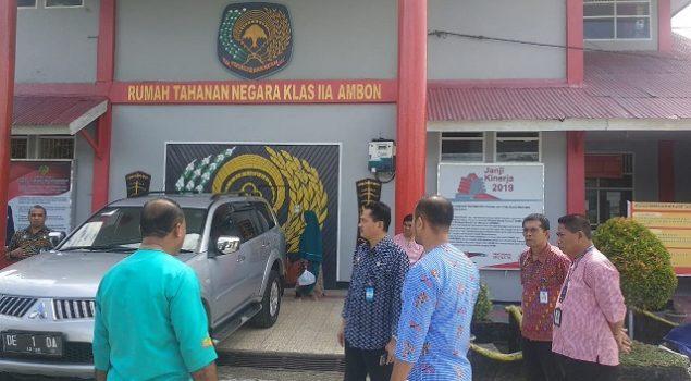 Staf Ahli Menkumham Pantau Kesiapan Rutan Ambon Menuju WBK