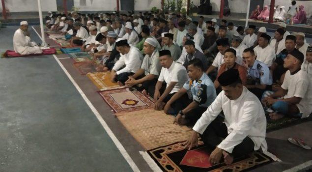 Harapkan Kelancaran Pilpres, Rutan Bantaeng Gelar Doa dan Dzikir Bersama
