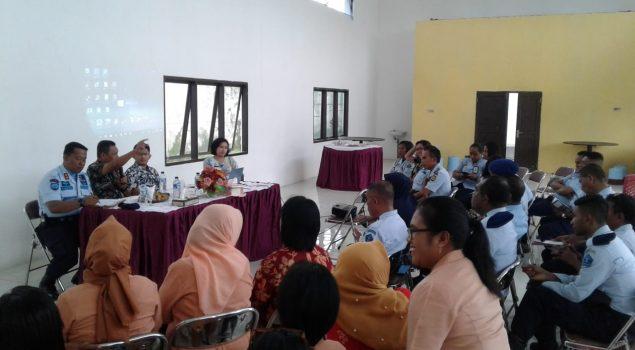 Lapas PiruMendapatkan Sosialisasi Pembangunan ZI WBK,WBM Oleh TIM Kerja Pusat Wilayah I Kemenkumham
