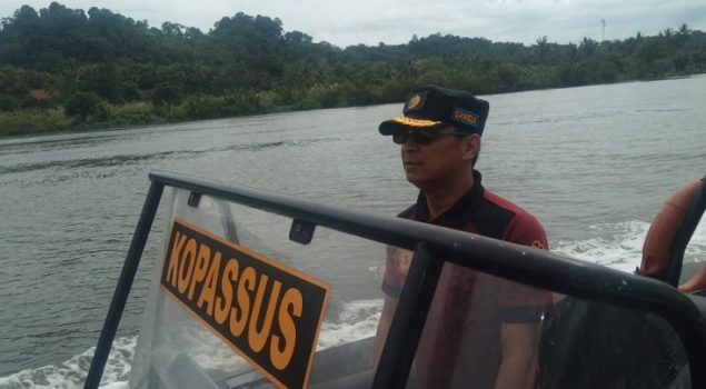 Patroli Laut Pastikan Keamanan Perbatasan Pulau Nusakambangan