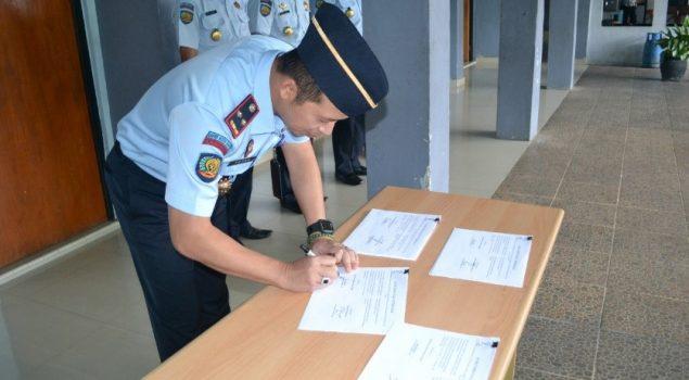 Lapas Kotabumi Deklarasikan Anti Halinar