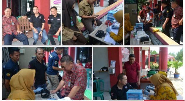 Sambut  Hari Bakti Pemasyarakatan ke 55 Lapas Kotabumi Laksanakan Kegiatan Donor Darah