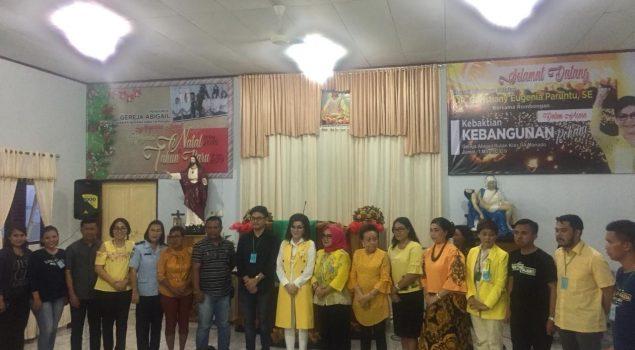 Petugas & WBP Rutan Manado Ibadah Bersama Bupati Minahasa Selatan