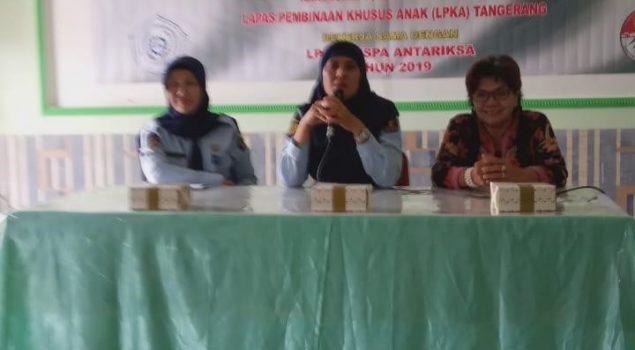 LPKA Tangerang Beri Pelatihan Keterampilan Interior untuk Anak Didik Pemasyarakatan