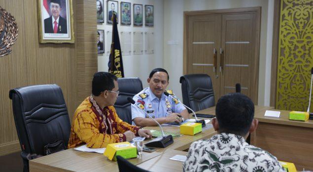 Bahas Rutan Marabahan, Ditjen PAS Terima Kunjungan Komisi I DPRD Kab. Barito Kuala