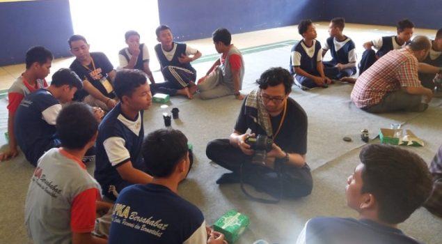 Anak LPKA Tangerang Ikuti Pelatihan Belajar Kamera Lubang Jarum dengan Komunitas Taman Potret
