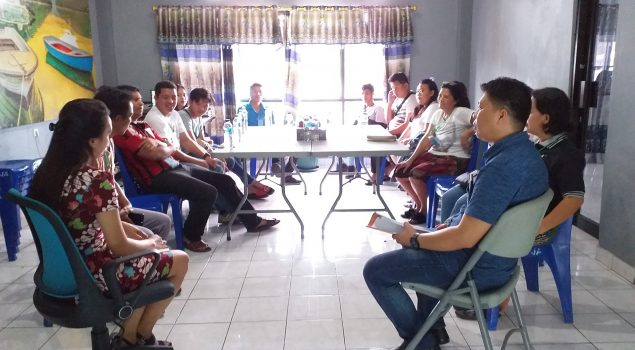 Rutan Manado Koordinasikan Pemilu 2019 dengan Ketua TPS Sawangan