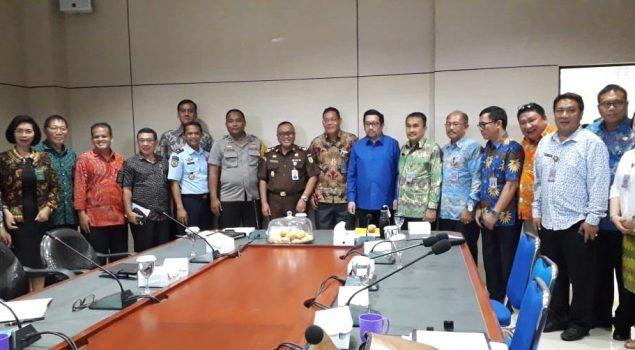 Karutan Manado Hadiri Rapat Pembangunan Zona Integritas Apgakum Kota Manado