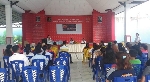 DWP Kanwil Kemenkeu Sulut Berbagi Kasih di Rutan Manado