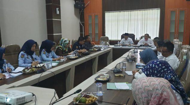 Kepala Bapas Lampung Hadiri Rapat Koordinasi Bersama Wakil Bupati Pringsewu Dalam Rangka Pemantapan Seminar SPPA