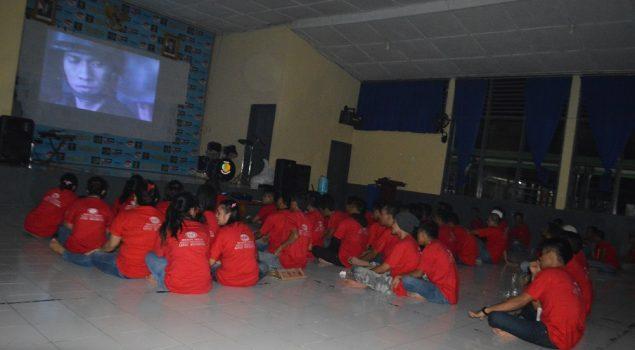 60 Residen TC Lapas Watampone Gelar Nonton Bareng