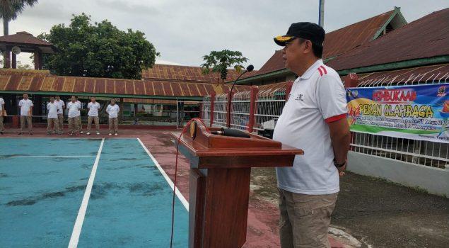 Pekan Olahraga Lapas Watampone Resmi Dibuka