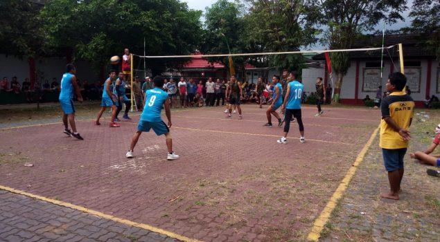 Final Bola Voli Antar Padepokan Blok Hibur WBP Lapas Semarang