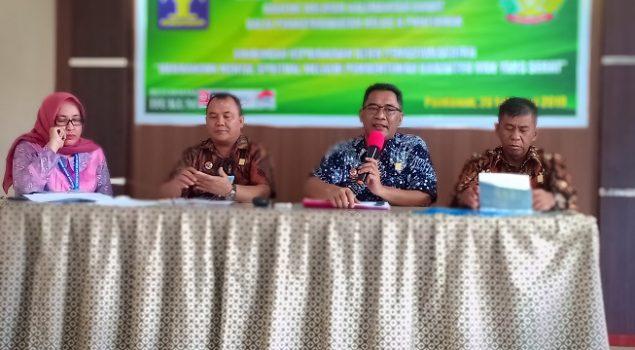 Bapas Pontianak Sosialisasikan Zona Integritas Menuji WBK/WBBM