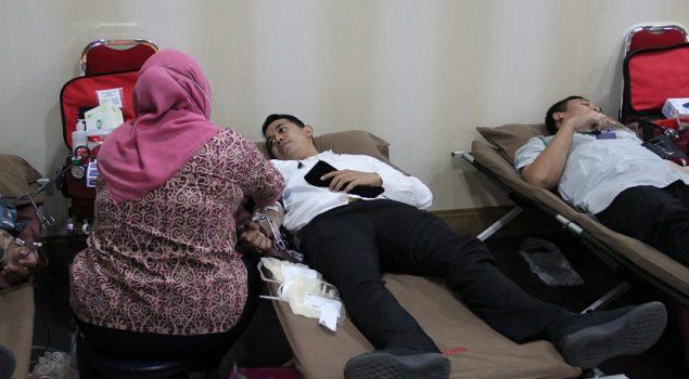 Kegiatan Donor Darah Pupuk Kepedulian Petugas Pemasyarakatan