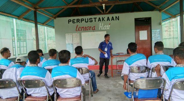 WBP Lapas Piru Dapat Pelatihan Kerja dari  BLK Ambon