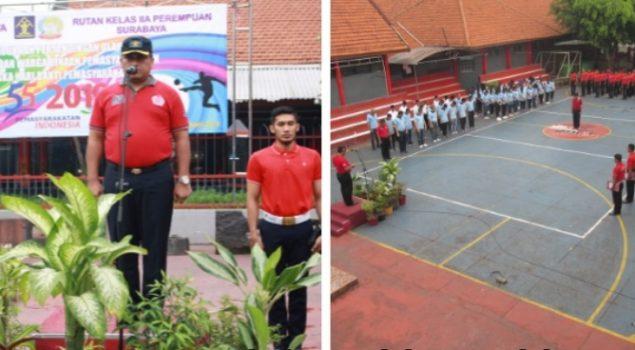 Rutan Medaeng Gelar Tanding Olahraga Antar WBP dan Petugas