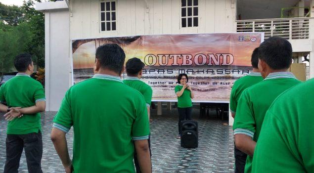 Bapas  Makassar Tingkatkan Kerjasama dan Kekompakan