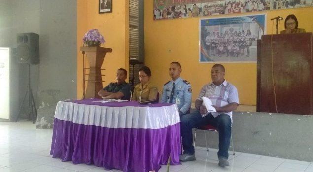 LPKA Ambon Gelar UKK Bagi Siswa SMK Negeri 6 Ambon