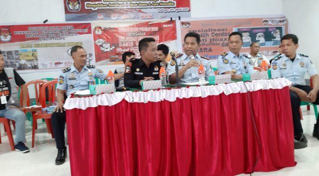 Lapas Palopo Bekerjasama Dengan Relawan Demokrasi KPU Kota Palopo Gelar Sosialisasi Pemilu