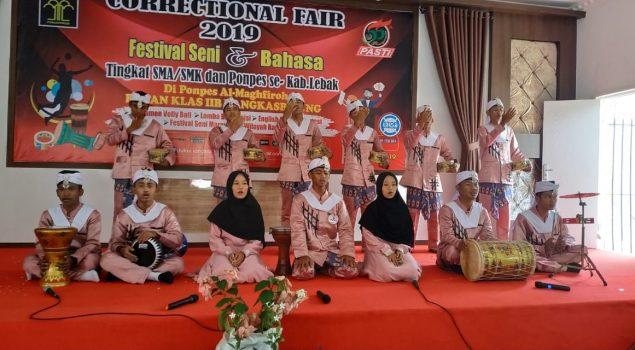 Festival Marawis Tandai Puncak Correctional Fair 2019 di Rutan Rangkasbitung