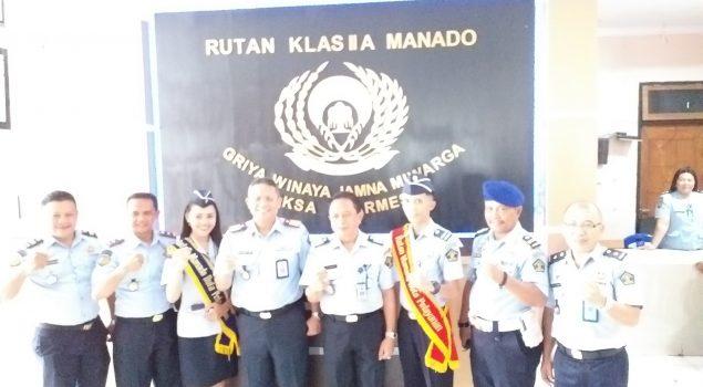 Kakanwil Kemenkumham Sulawesi Utara Kunjungi Rutan Manado Untuk Wujudkan WBK dan WBBM