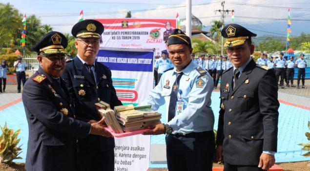 LPKA Manokwari Dapat Tambahan 350 Buku Bacaan