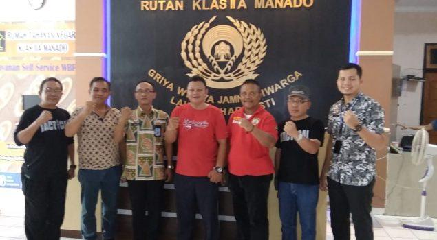 Tim Kerja Pemantauan Zona Integritas Menuju WBK Dan WBBM Kunjungi Rutan Manado