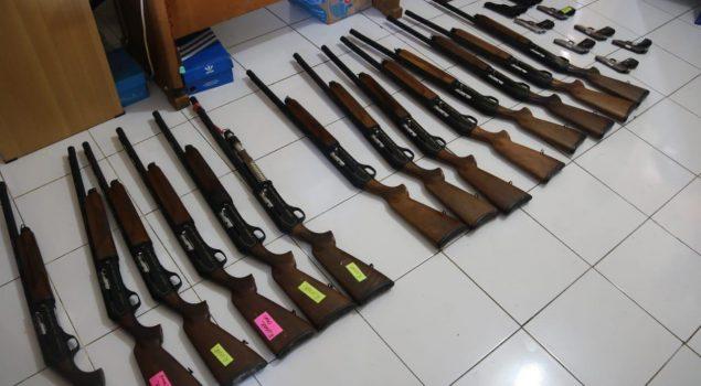 Lapas Narkotika Sungguminasa Lakukan Pemeriksaan Senjata dan Amunisi