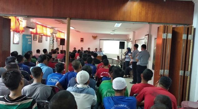 LPN Jakarta Fasilitasi KPU Lakukan Sosialisasi Pemilu 2019