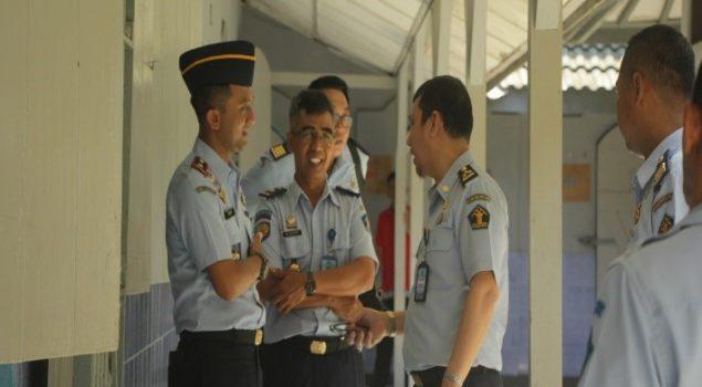 Tim Itjen Kemenkumham Pantau Pembentukan ZI Menuju WBK di Rutan Wates