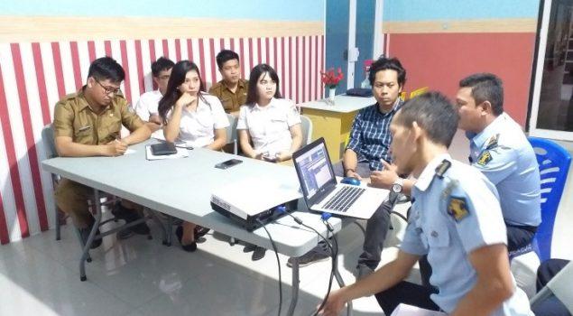 Rutan Manado-Kominfo Manado Bahas Konten Aplikasi Serdadu Cerdas
