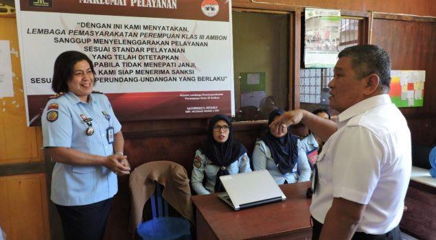 Kakanwil Maluku Pantau Persiapan Pemindahan Sementara Kantor LPP Ambon