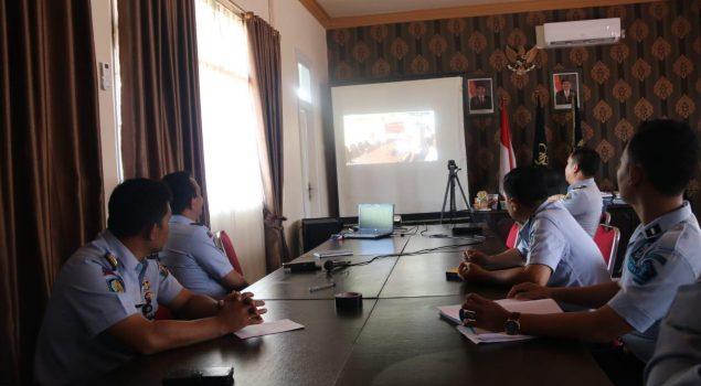 LPN Sungguminasa Ikuti Teleconference Supervisi Manajemen Pelaksanaan Layanan Rehabilitasi Narkotika