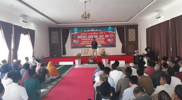 Grand Final Hafiz Quran Tutup Gebyar Ramadan di Rutan Rangkasbitung