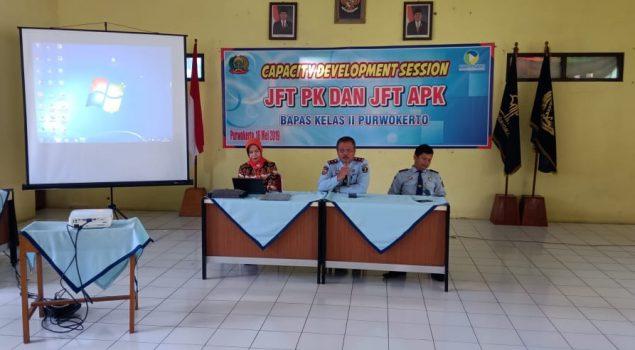 Capacity Development Session Tingkatkan Pengetahuan PK & APK Bapas Purwokerto