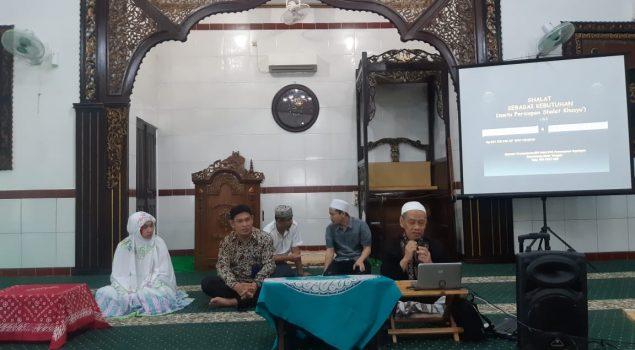 WBP Lapas Semarang Dapatkan Pelatihan Mengerjakan Sholat Dengan Khusyu