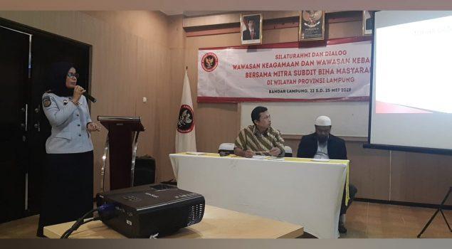 Kabapas Lampung Paparkan Proses Integrasi Sosial Mantan Napiter Dalam Perspektif Kriminologi