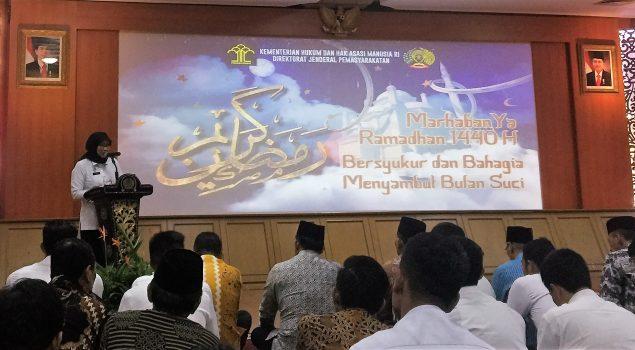 Munggahan Ditjenpas : Bersyukur dan Bahagia Menyambut Bulan Ramadan 1440 H