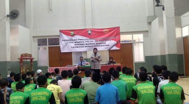 Penyuluhan Dit. Binmas Polda Metro Jaya Memotivasi Anak LPKA Jakarta