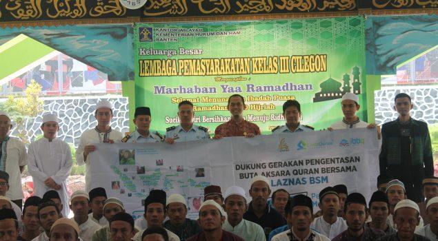 Lapas Cilegon Gandeng Cinta Quran Foundation Gelar Training Baca Al-Quran