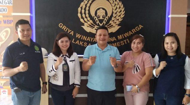 Hakim Wasmat PN Airmadidi Minahasa Utara Puji Layanan Rutan Manado