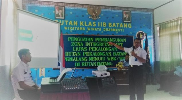 Direktur Yantah & Pengelolan Basan Baran: Rutan Batang Layak Raih WBK