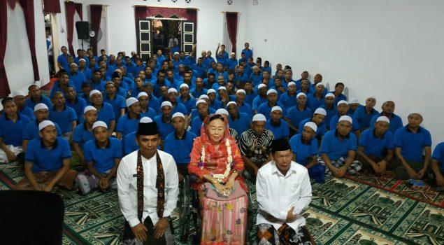 Sahur bersama Warga Binaan, Shinta Nuriyah Wahid Tanamkan Anti Kebencian dan Hoax